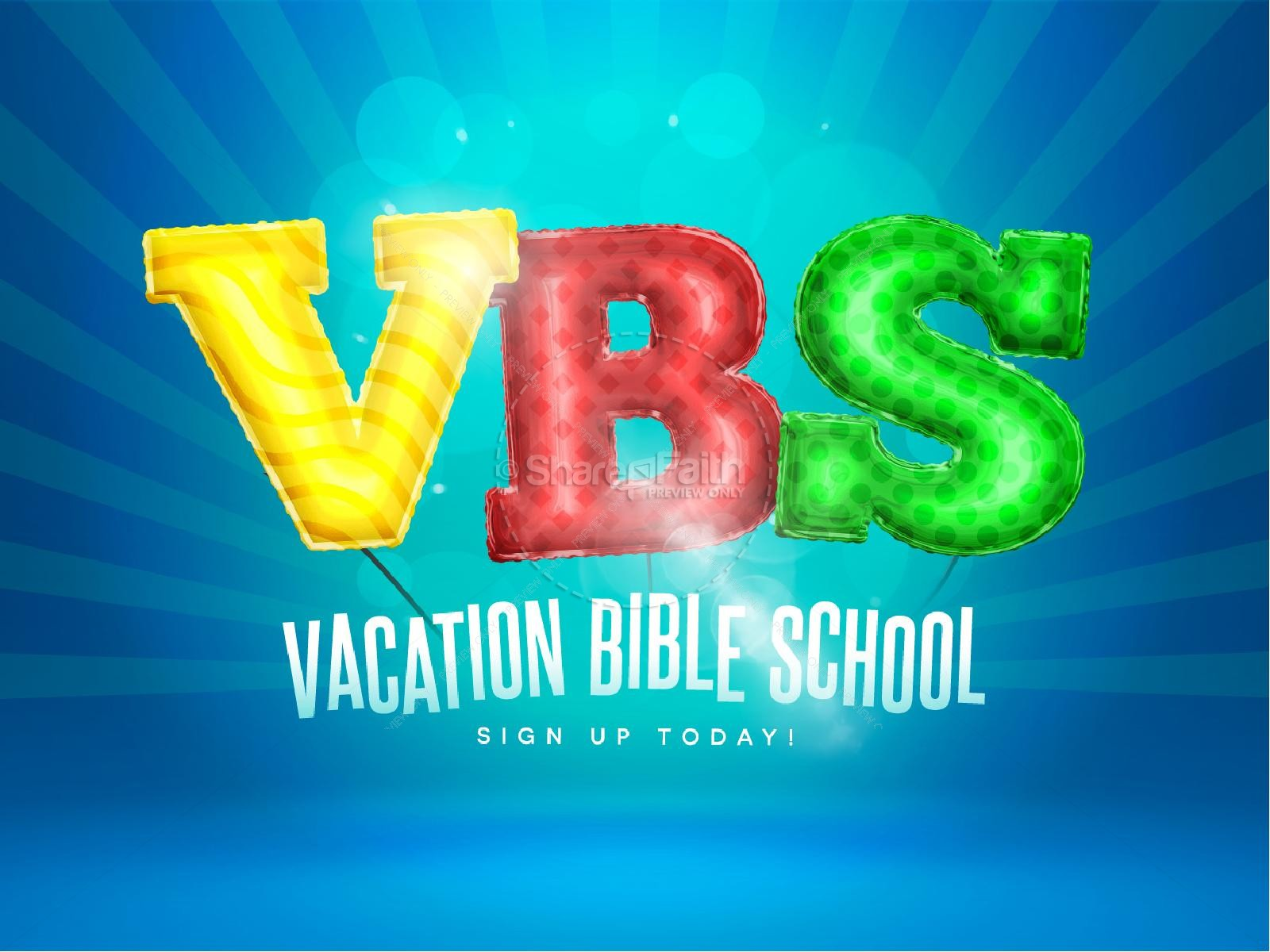 VBS Registration Church PowerPoint