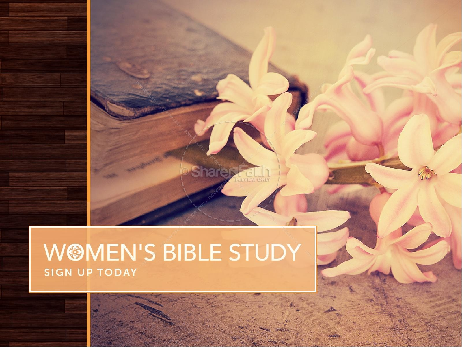 Women's Bible Study Ministry PowerPoint