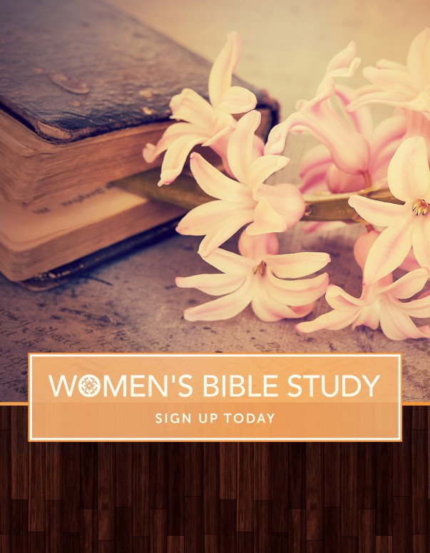 Women's Bible Study Ministry Flyer