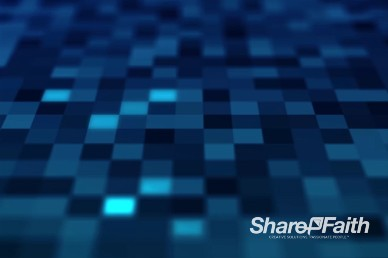Light Square Grid Worship Video Background