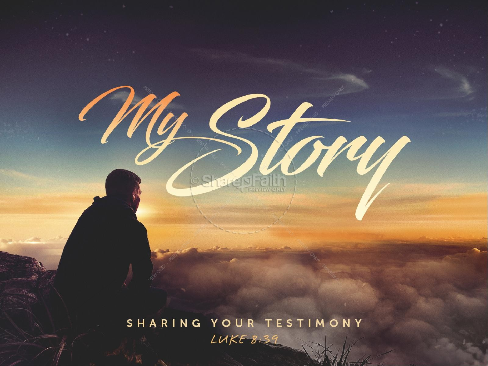 My Story Church PowerPoint