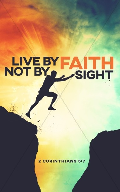 Live By Faith Church Bulletin