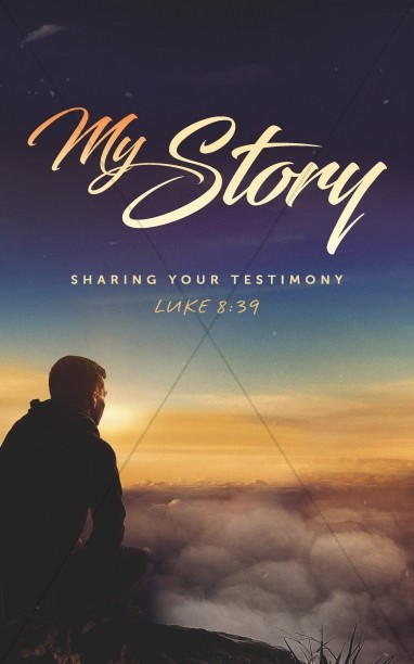 My Story Church Bulletin