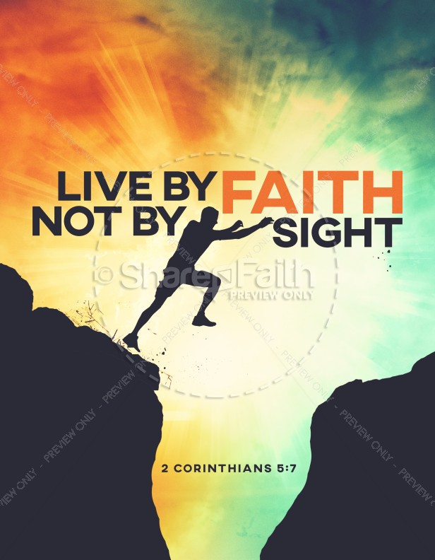Live By Faith Church Flyer | page 1