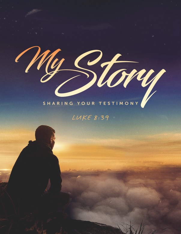 My Story Church Flyer
