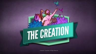 The Creation Story Sunday School Kids Bible Video