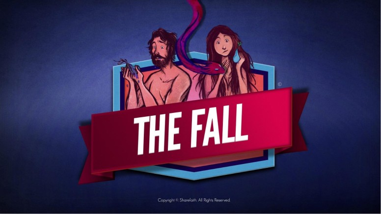 The Fall Of Man Genesis 3 Kids Bible Story