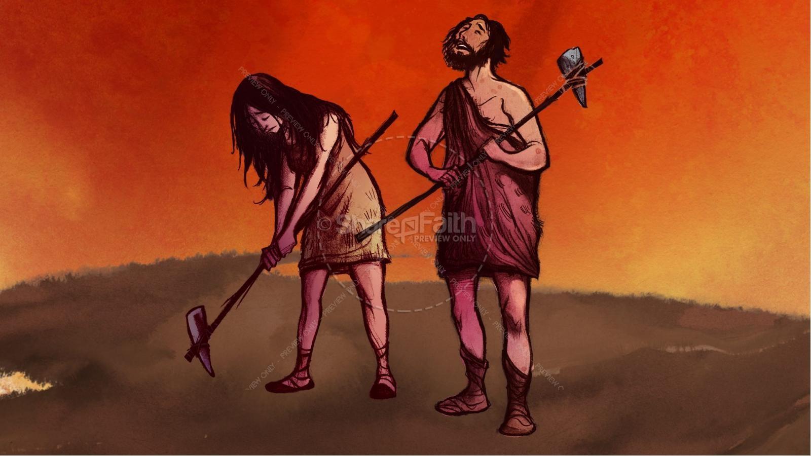 The Fall Of Man Genesis 3 Kids Bible Story | slide 9