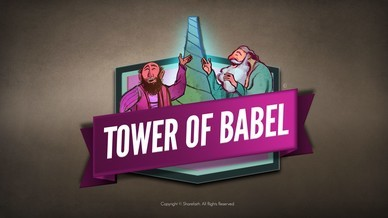 Tower of Babel Bible Story For Kids Video