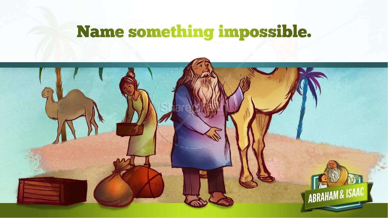 Abraham and Isaac Kids Bible Story | slide 16