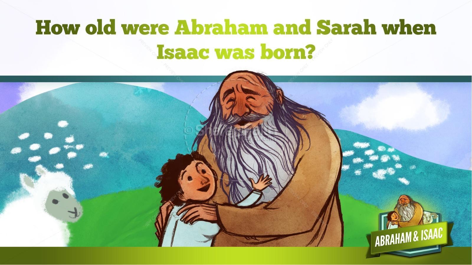 Abraham and Isaac Kids Bible Story | slide 18