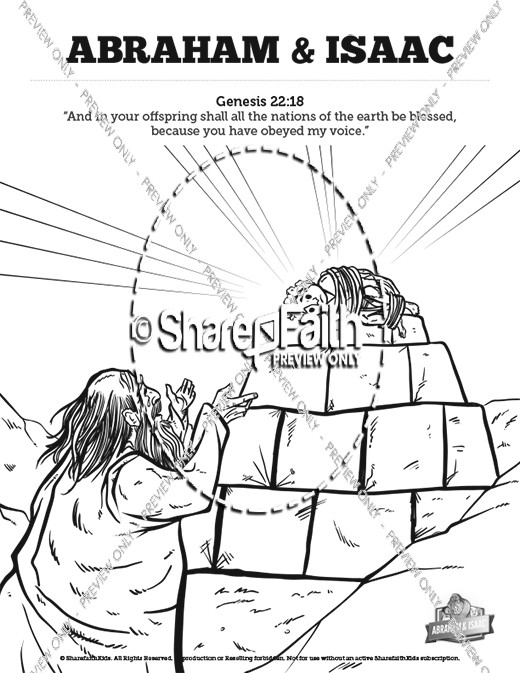 abraham coloring pages - Quoteko. | Sunday school coloring pages ... | 673x520