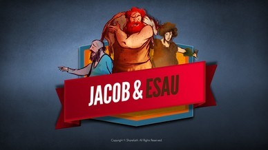 Story Jacob and Esau Kids Bible Video