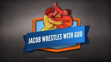 Jacob Wrestles With God Bible Story Video For Kids