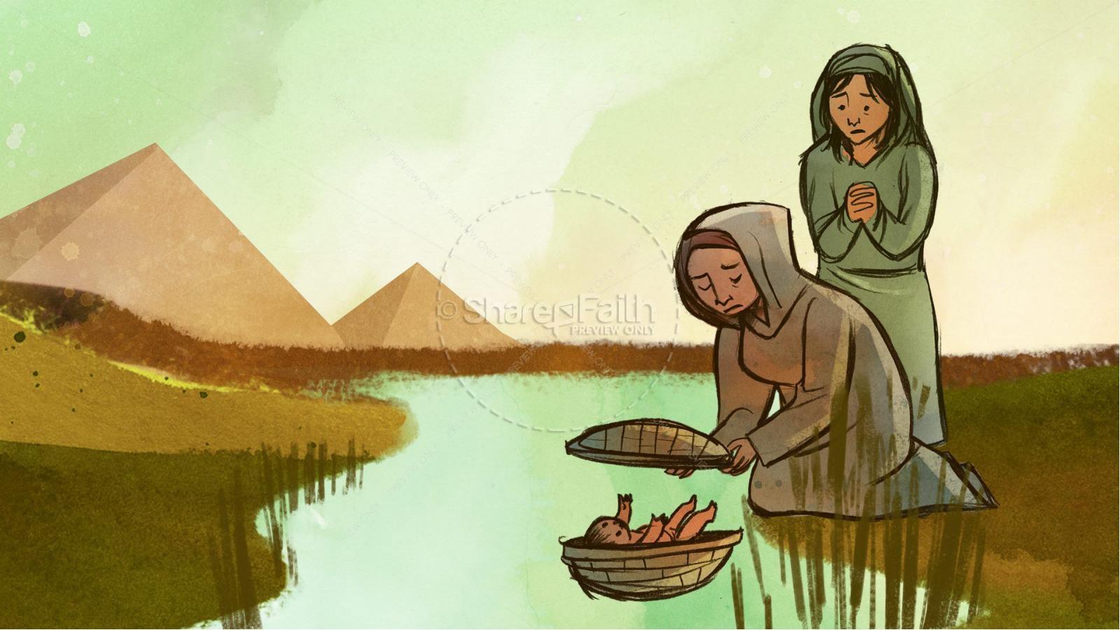 The Ten Plagues Kids Bible Story | slide 3