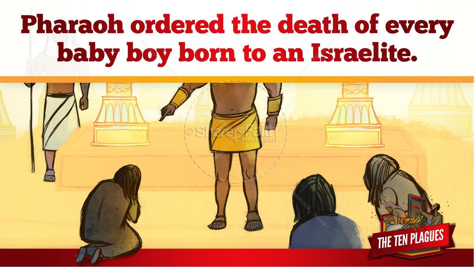 The Ten Plagues Kids Bible Story | slide 25