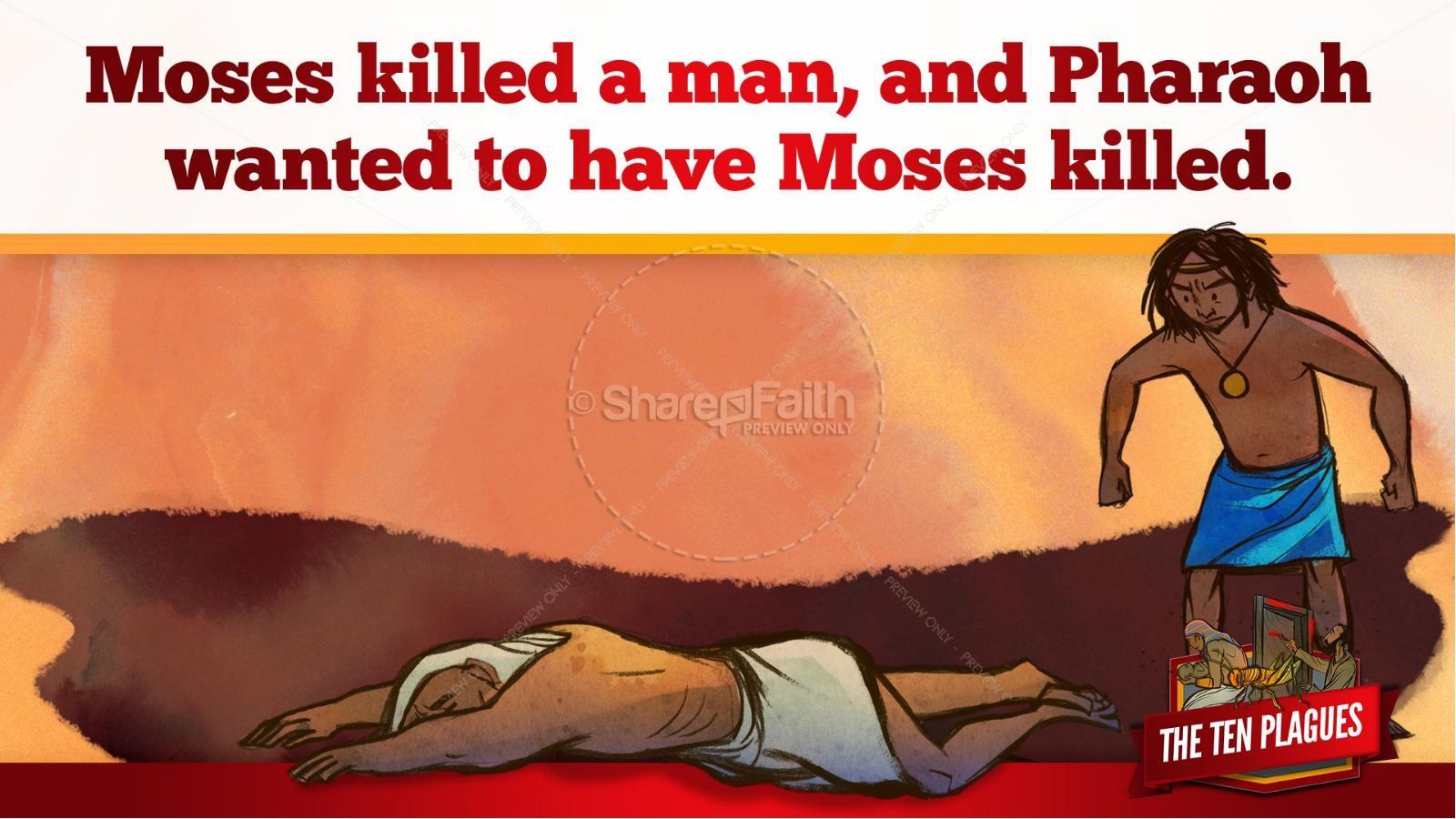 The Ten Plagues Kids Bible Story | slide 33