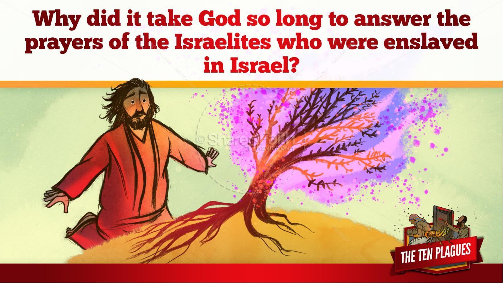 The Ten Plagues Kids Bible Story   slide 42