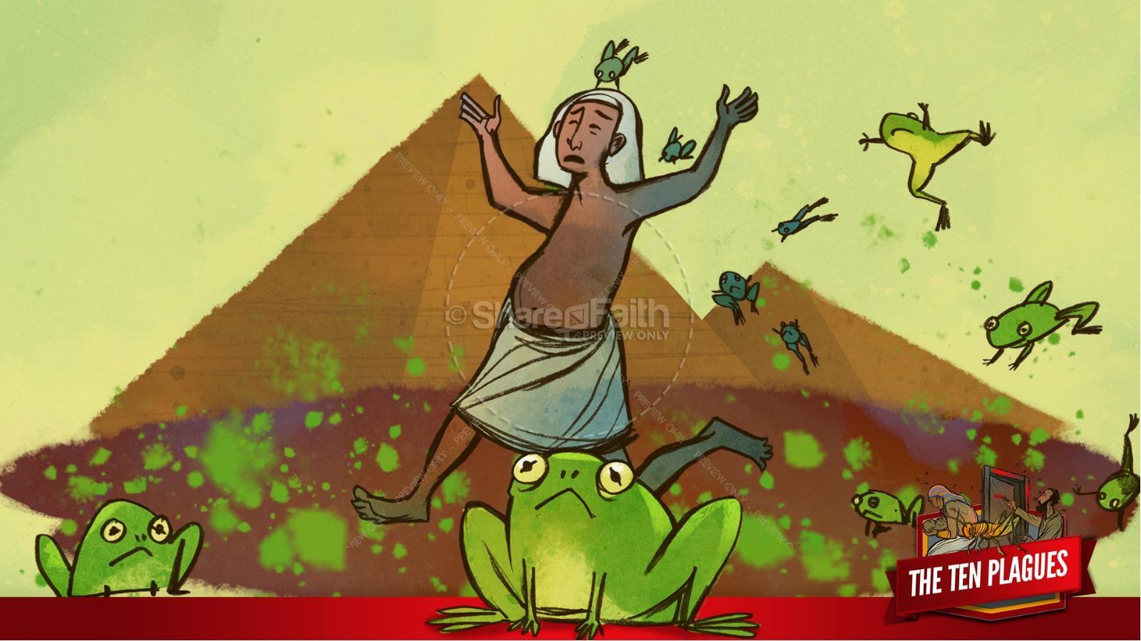 The Ten Plagues Kids Bible Story | slide 51