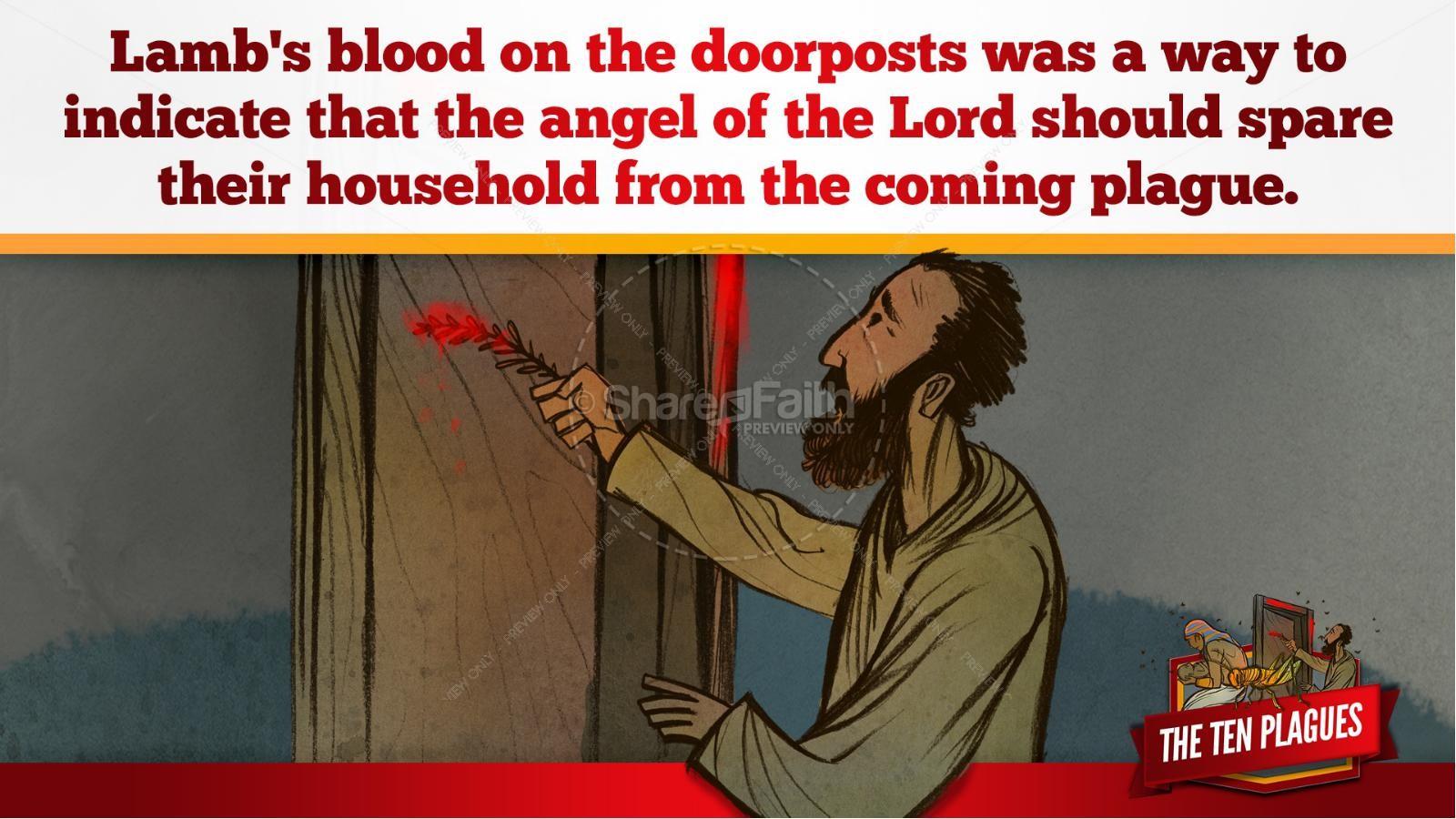 The Ten Plagues Kids Bible Story | slide 81