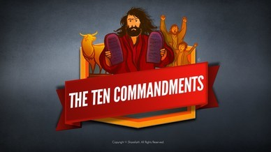 The Ten Commandments Bible Video For Kids