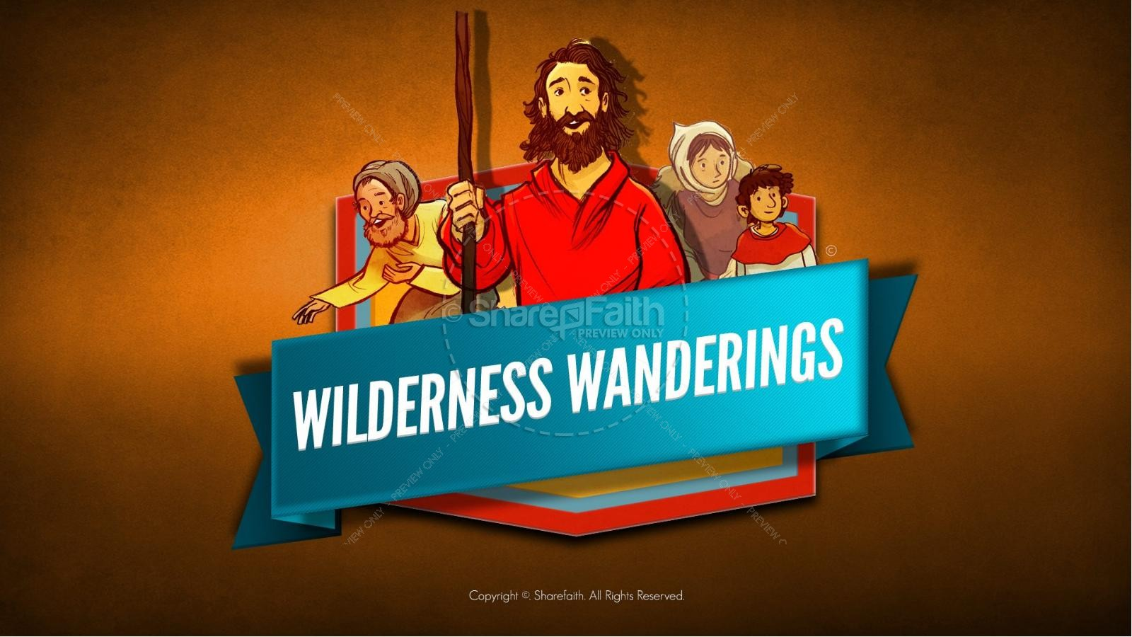 40 Years In The Wilderness Kids Bible Story