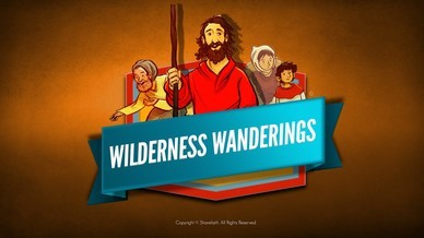 40 Years In The Wilderness Bible Video For Kids