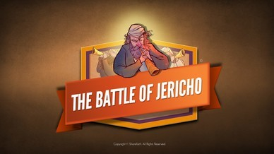 The Battle of Jericho Bible Video For Kids