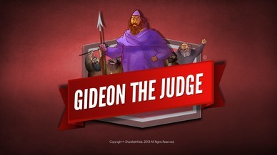 Judges 6 Gideon and the 300 Men Bible Video For Kids