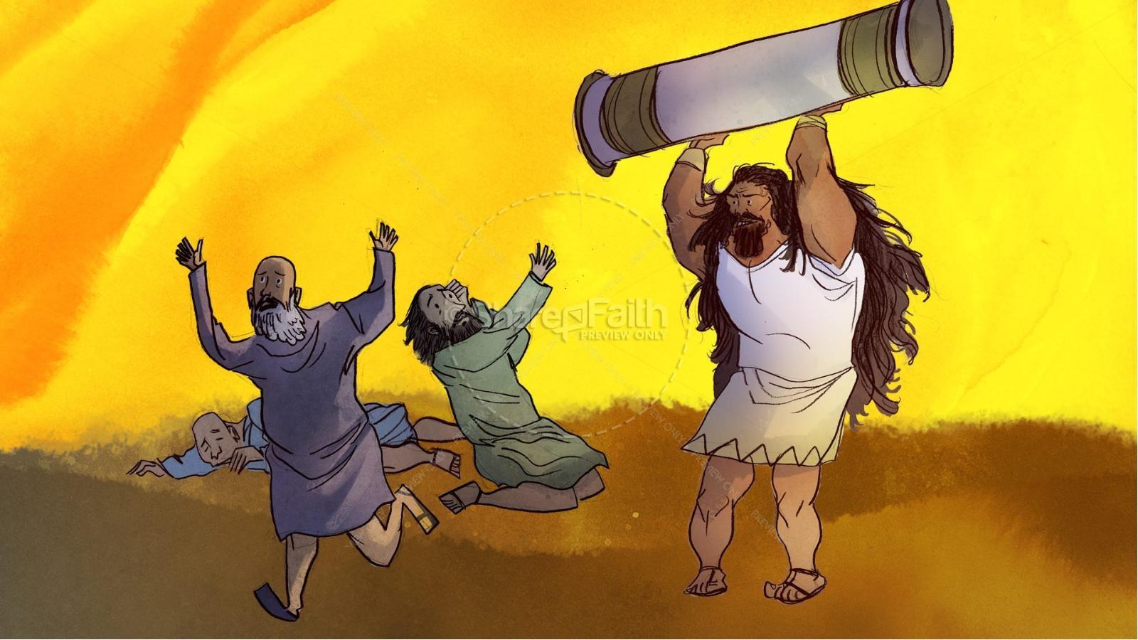 Samson and Delilah Kids Bible Stories | slide 10