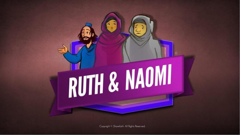 Ruth and Naomi Kids Bible Story