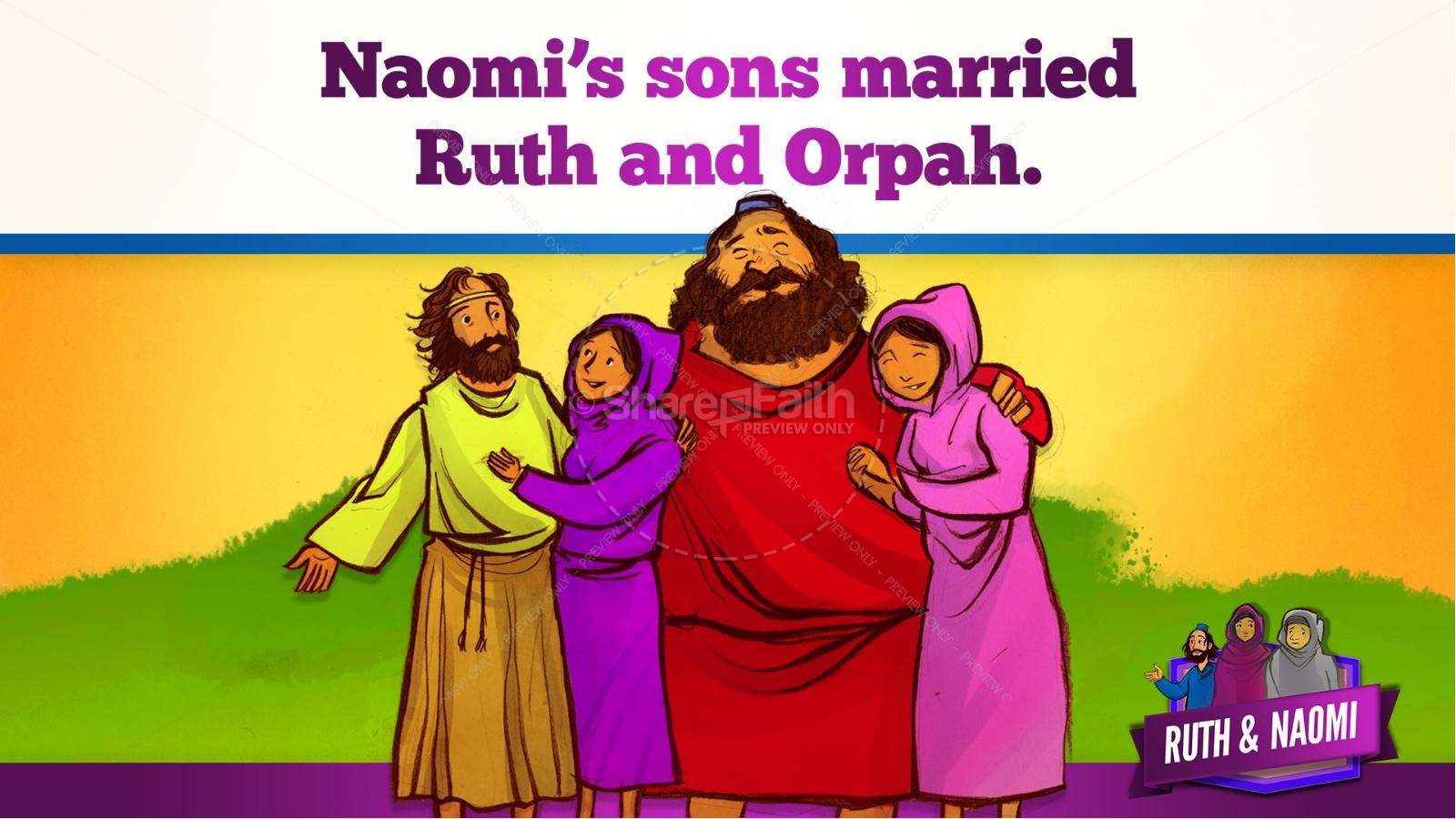 the story of ruth and naomi Wwwdiscoverthewordorg.