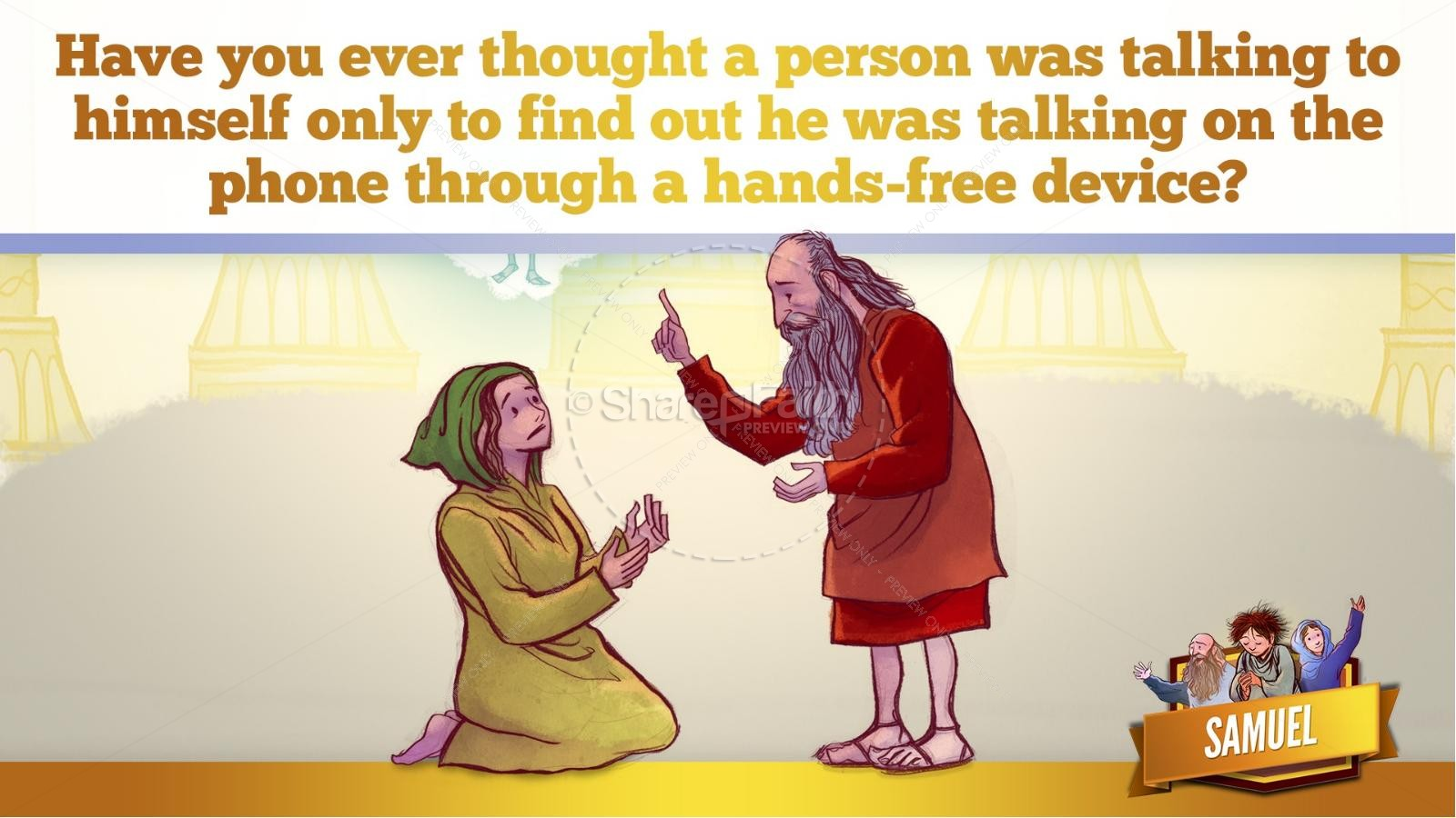 Samuel Bible Story For Kids | slide 20