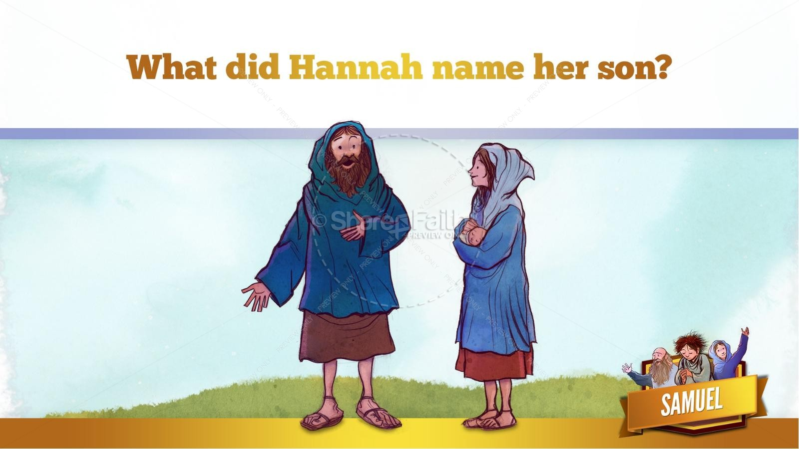 Samuel Bible Story For Kids | slide 22