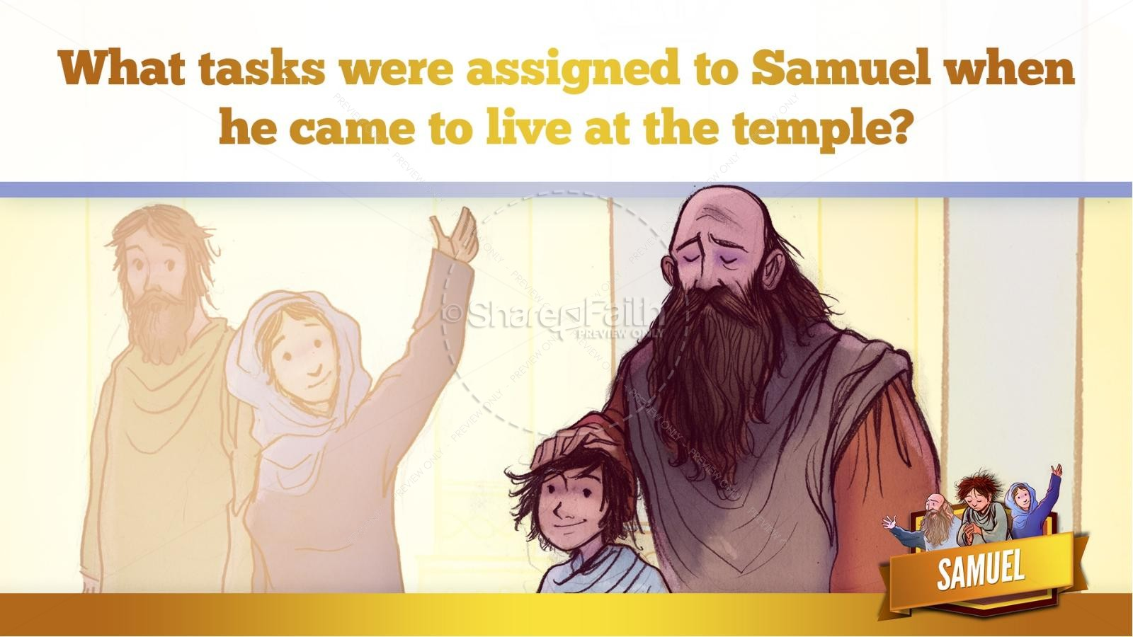 Samuel Bible Story For Kids | slide 26