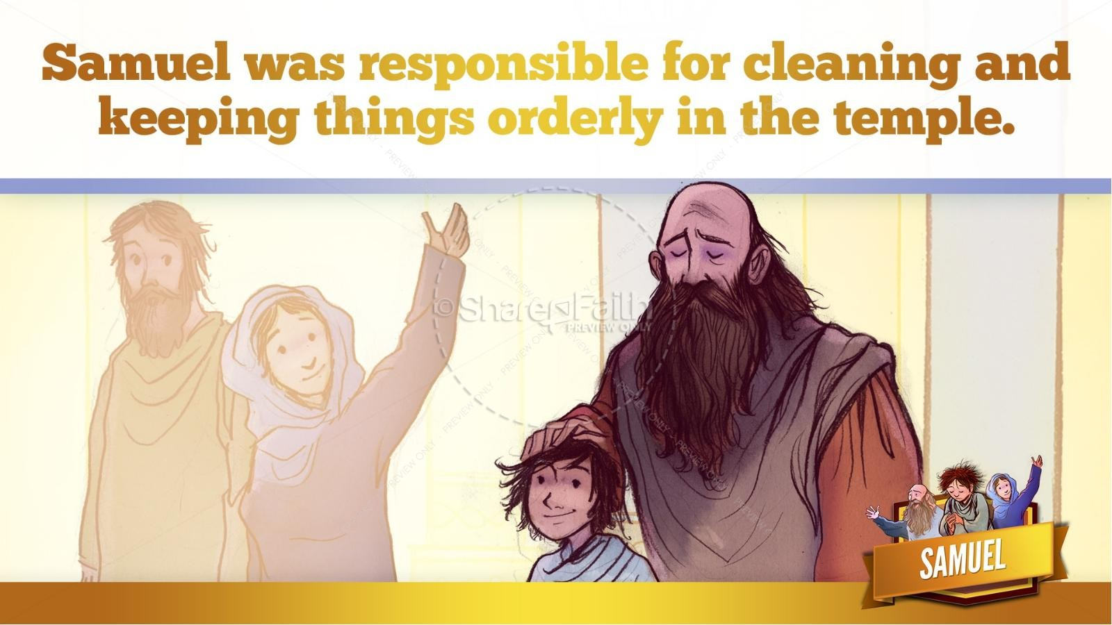 Samuel Bible Story For Kids | slide 27