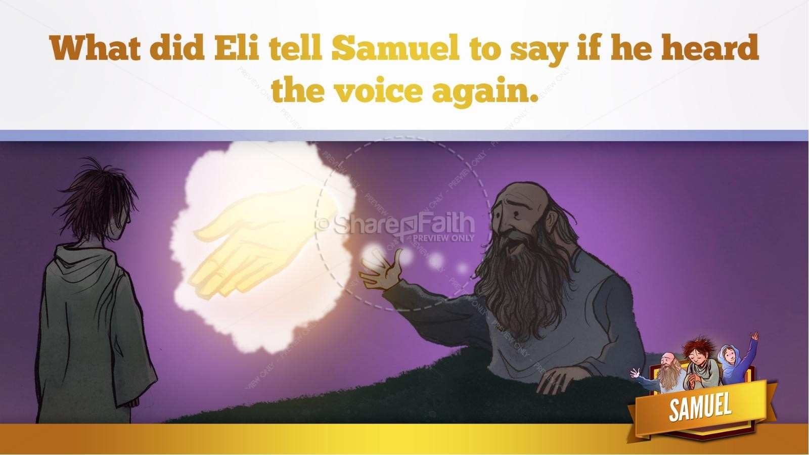 Samuel Bible Story For Kids | slide 34