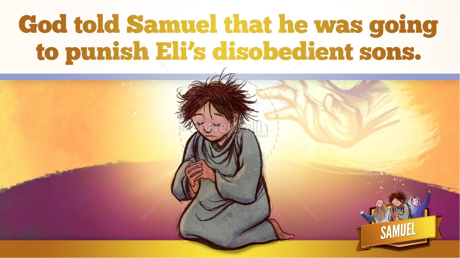 Samuel Bible Story For Kids | slide 39