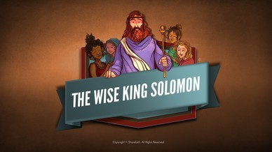 Wisdom Of Solomon Bible Video For Kids