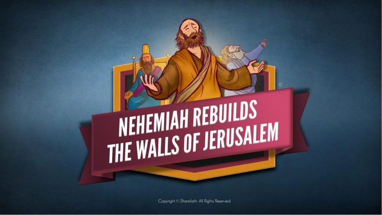Book of Nehemiah Kids Bible Story