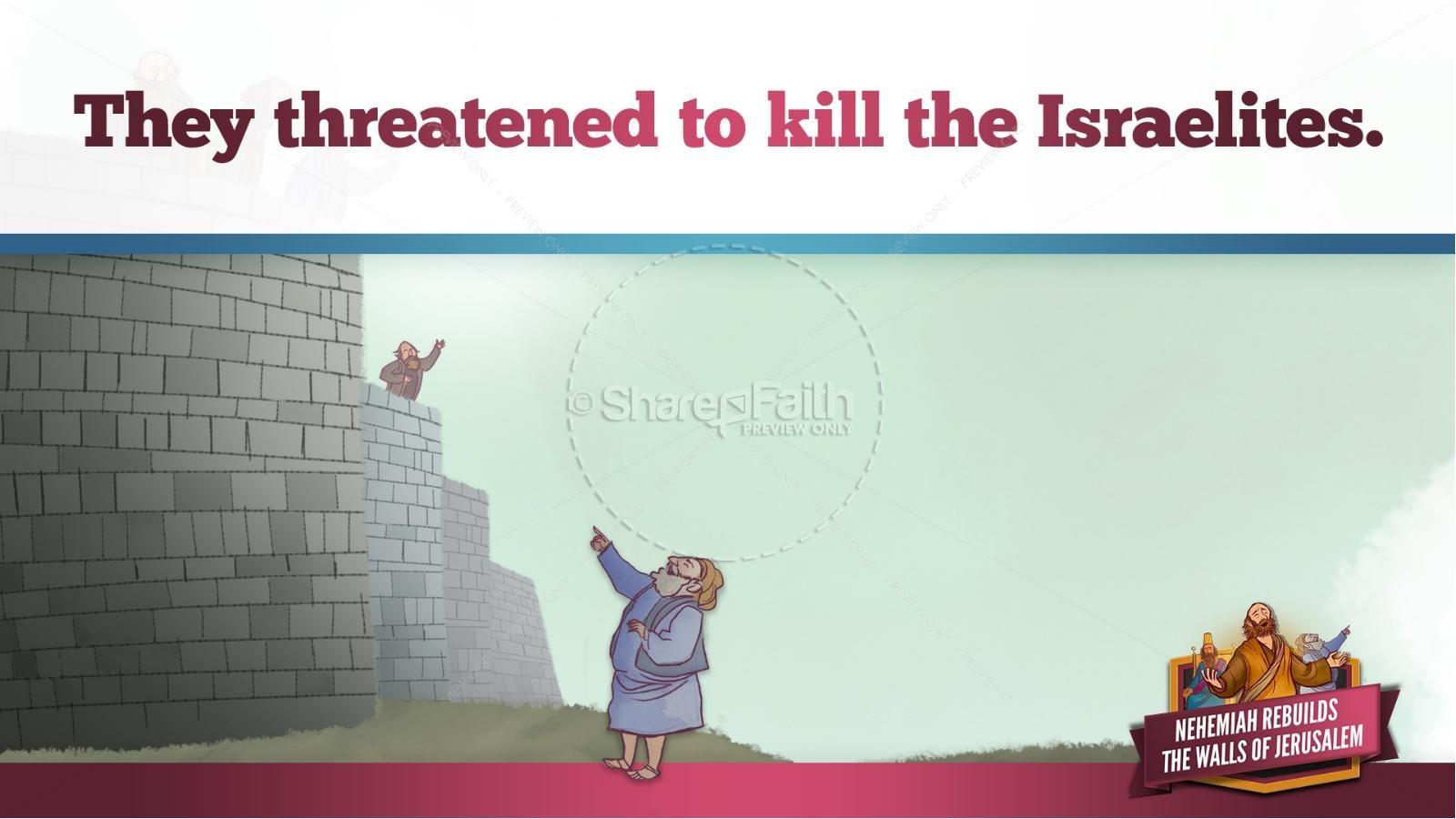 Book of Nehemiah Kids Bible Story | Kids Bible Stories
