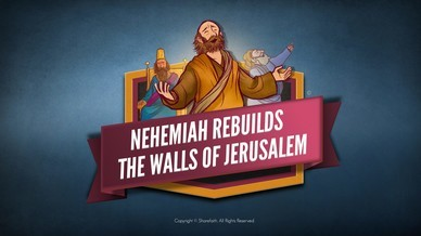 Book of Nehemiah Bible Video For Kids