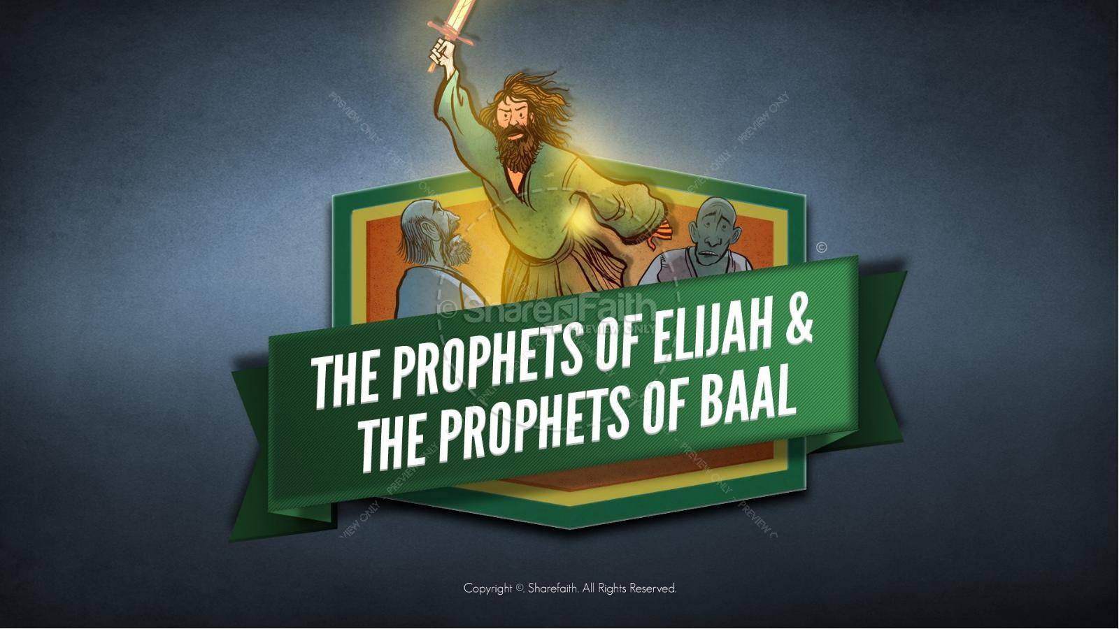 Elijah The Prophet 1 Kings 18 Bible Video For Kids | Bible Videos ...
