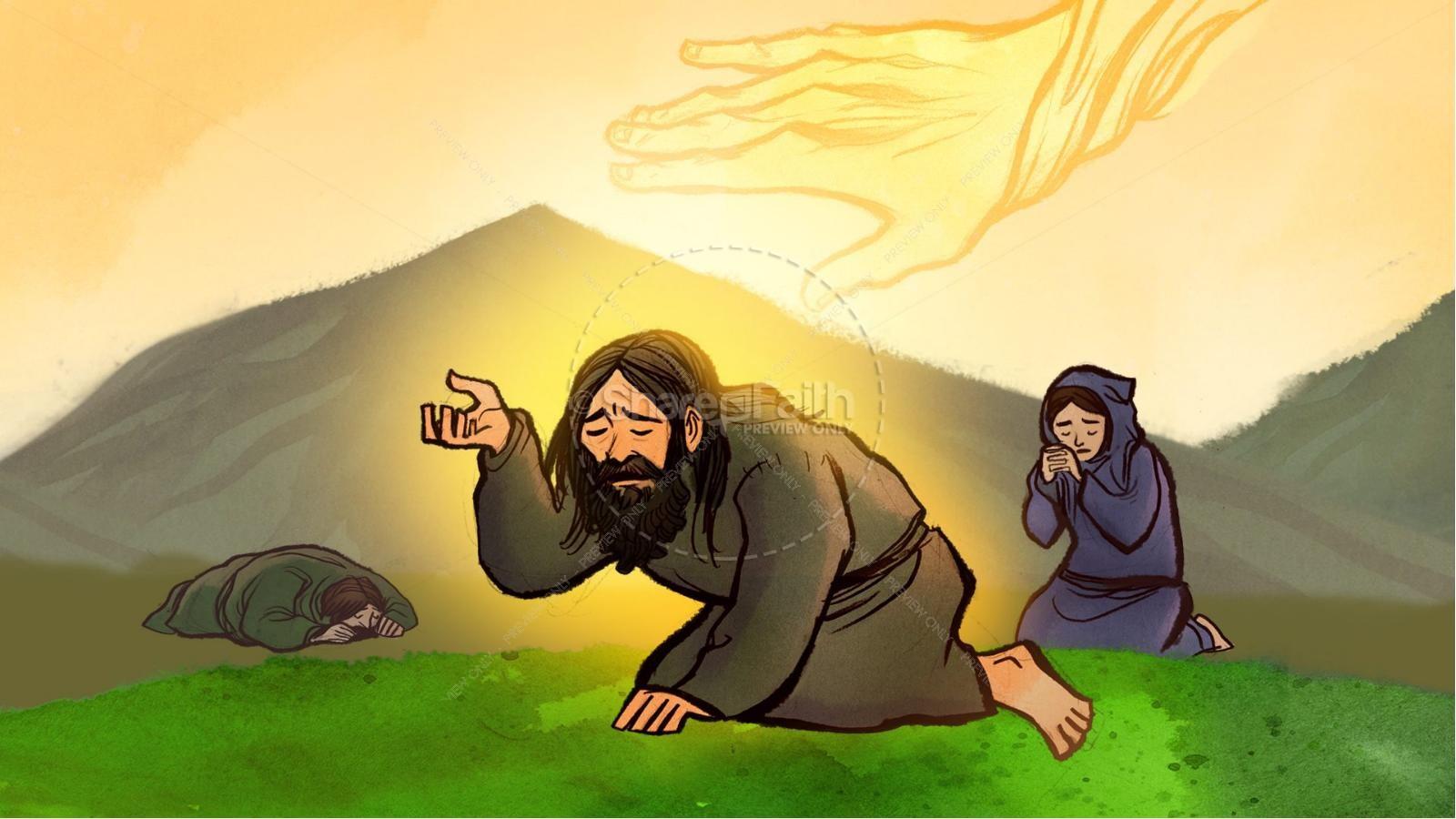 Elijah The Prophet 1 Kings 18 Kids
