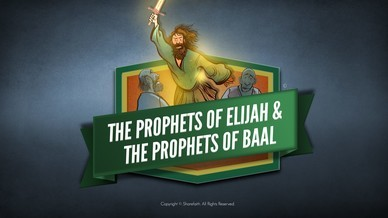 Elijah The Prophet 1 Kings 18 Bible Video For Kids