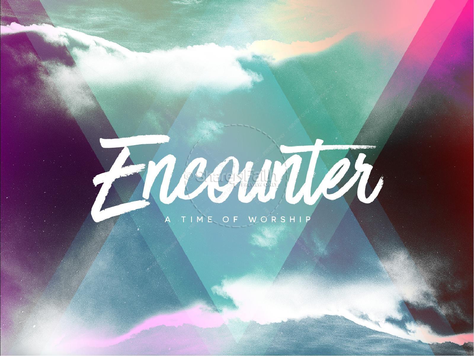 Worship Encounter Church PowerPoint | slide 1