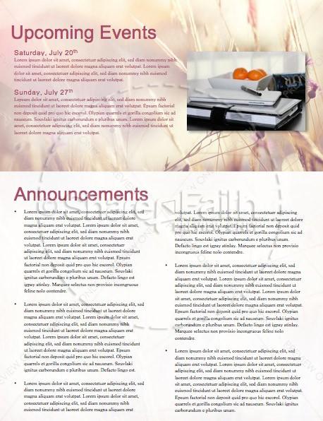 Authentic Faith Church Newsletter