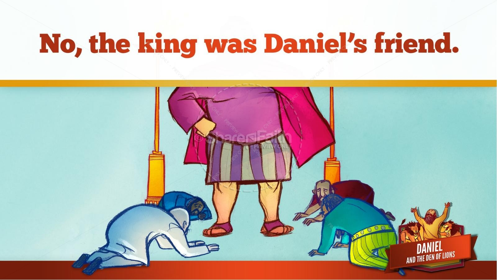 Daniel And The Lions Den Kids Bible Story