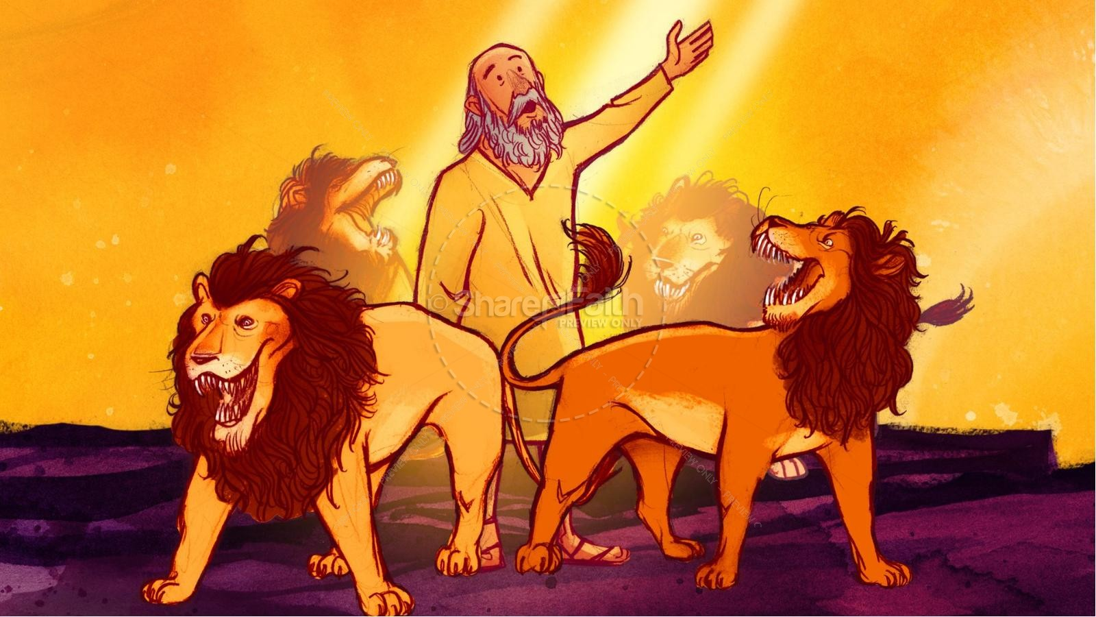 daniel and the lions den kids bible story kids bible stories