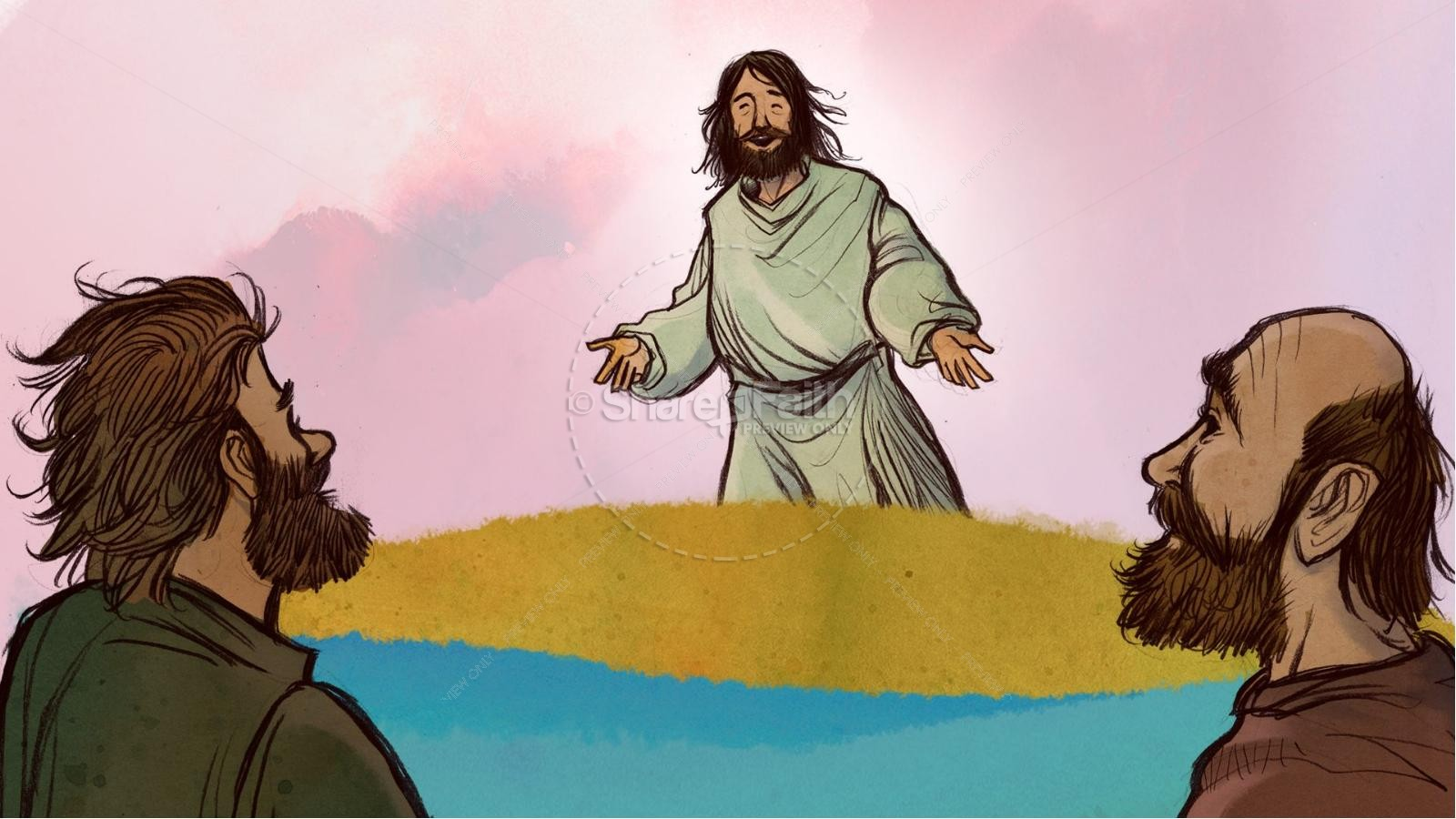 Jesus Chooses His 12 Disciples Kids Bible Story | slide 3